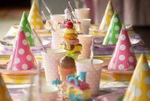 Ice Cream Party / We all scream for ice cream, ice cream party ideas!
