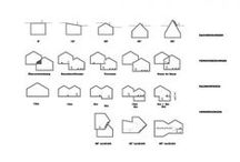 Architecture drawings, maps and models