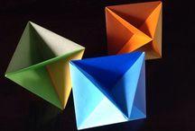 Origami pliages et petits papiers