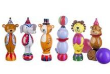 Vintage Circus Range / Beautiful wooden toys inspired by Vintage Circus