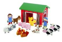 Farm Yard Range / Farm Yard Range of beautiful wooden toys