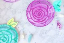 Spring Parties and Crafts / Get inspiration for spring parties, crafts and desserts