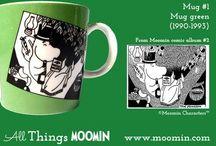 Moomin mug # The complet history / Mumikrus i rækkefølge - Man er vel lidt en samler....
