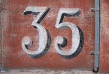 House Numbers Signage