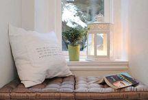 Reading Nook / Steder jeg ville elske at sidde og læse en i en bog