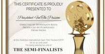 Festivals and Contests / Recognitions, Official Selections in Film Festivals and accolades of Purplehed