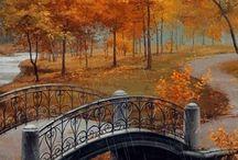 Осень /  Осень придёт ко всем. Она неминуема и потому беспощадна. Она по-царски величественна и спокойна. Она знает, что следом за ней придёт время покоя и тишины. Время, когда останется лишь подводить итоги. Время завершения круга Жизни. Осень любит дарить подарки тем, кто живёт с ней на одном дыхании. Посмотрите вокруг. Услышьте и увидьте.