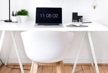 Home Office - mein Zuhause-Büro / Arbeiten von zu Hause aus oder eben einfach nur ein schöner Platz für Computer und Co