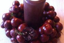 Basteln im Herbst // Crafting in Autumn / Basteln mit Kastanien, buntem Laub und Kürbissen - der Herbst ist da!