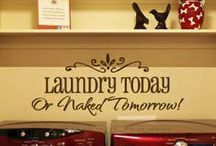 Makeover--Laundry room / by Julie Finlayson