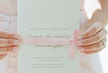 Wedding Menus, Programs & More / by Laura Moore
