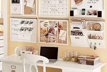 DIY Office - Studio Ideas / All kind of ideas for my Sewing/dressmaking studio, workshop & office / by Romoblanc Fashion Designs