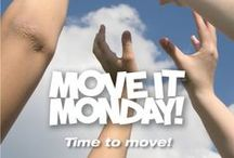 Move It Monday: Posters / Share these posters anywhere you'd like! They are great for websites, print or social media.