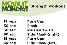 Move It Monday: Workouts / Official Move It Monday workouts from out fitness experts.