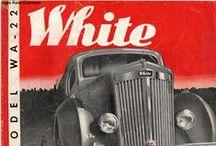 White / White Trucks / by Burton Youngs