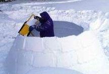 Construire un igloo / Comment construire un igloo, à la montagne ou chez soi !