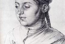 Northern/German Renaissance Art / Dürer, Holbein, Cranach, Van Leyden &c