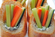 Healthy Easy Snacks / Healthy can be easy too!  These snacks are as easy as 1-2-3!