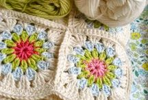 Crochet- Squares / So many squares, so little time!