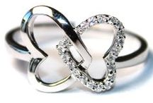 Heart Promise Rings / Heart Shaped Rings including Heart Shaped Promise Rings and Heart Shaped Wedding Rings