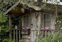 Shed Genius #gardensheds / by Ilona's Garden
