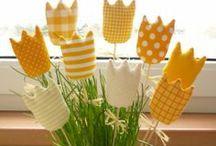 Flores de pano, papel ... - Flowers / Flores de papel, tecido, fuxico...