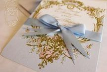Paper design / STATIONERY : Wedding Programs, Guest Book, Letterpress wedding invitations, save the date cards, Invitations, Menù cards, Place cards, Thank you notes  Menù end..........these are a few of our favorite things for paper design
