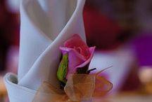 Wedding Table Settings / allestimenti della tavola di nozze, ricevimenti, party e feste di compleanno.