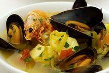 Peixes e Frutos do Mar - Fish and Seafood