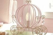 """Girl's Nursery / Girl's nursery decor and decoration ideas to design the perfect room for your """"little miss!"""" / by Cali Chic Patterns"""