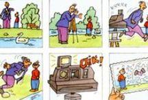 Narrar desde el cómic / Creación de textos narrativos a partir de viñetas.