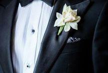 Wedding groom boutonniere / Fiore all'occhiello per lo sposo e gli ospiti