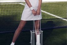 Tennis editorial theme