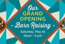Grand Opening - May 16, 2015 / Join us on May 16, 2015, 12 - 6 p.m. for a day of celebration with gourmet Southern fare, live bluegrass music, craft beer, tours of beautiful model homes, contest drawings, kids' games and more!