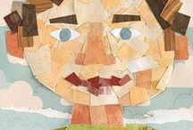 Art at school / art project in primary school