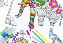 Coloring Pages / A variety of colouring / coloring pages for kids and adults.