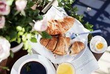 L E - P E T I T - D E J E U N E R / - PARIS - CROISSANT - COFFEE - BREAKFAST - IN BED - SUNDAY MORNING -