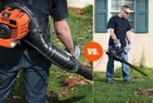 Choosing Equipment / The right tools can help you take your yard from good to worthy of your neighbor's envy. Let Remington help you figure out the best tools for you, and your yard's, needs.