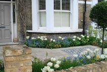 Staying in - front garden