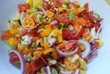Healthy Salads - Raw mostly - some cooked items / Also some great fermenting recipes... I love fermented foods and they are so good for you !!