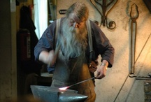METALART / Blacksmithing, Jewelry Making, and any nice things made of or used in the making metal. / by Charlie Deeds