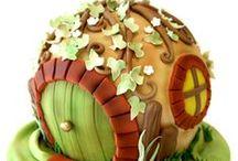 Polimer clay/Porcelana fría / Tejas decoradas, figuras con polimer clay y otras técnicas. / by Lybby Castro