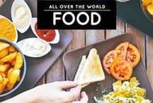 » Food & Recipes Around The World / Food / cuisine / recipe discoveries around the world and cooking adventures by Aileen a.k.a. the 'Foodie from the Metro'! See more here: http://iAmAileen.com/food/