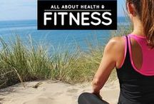 » Health and Fitness / All about health, exercise and fitness! See more here: http://iAmAileen.com/life-tips/