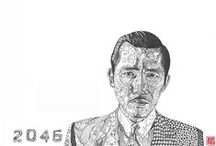 Illustrations | movie directors or actors / by Forrest Lau