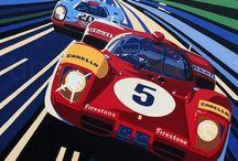 Classic Motor Sport Artworks / by Mauricio Dos Santos