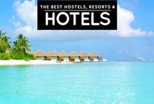 » Best Hotels / Accommodation Worldwide / The best accommodations around the world! See more at http://iamaileen.com/category/blogging/reviews/accommodation/