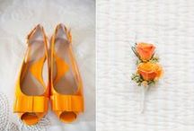 Paleta de Cores: Laranja / Paleta de cores, decoração de casamento, decoração laranja, paleta laranja