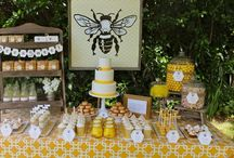uh-huh, honey: bee baby shower / Inspiration board for a Honey Bee themed baby shower or gender reveal party. Uh-huh, honey... / by Pretty Little Showers