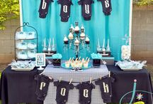 hey baby, i'm a rockstar / Inspiration board for a Rock Star themed baby shower or party. Rocking this board - the only thing we're missing is a black guitar... / by Pretty Little Showers